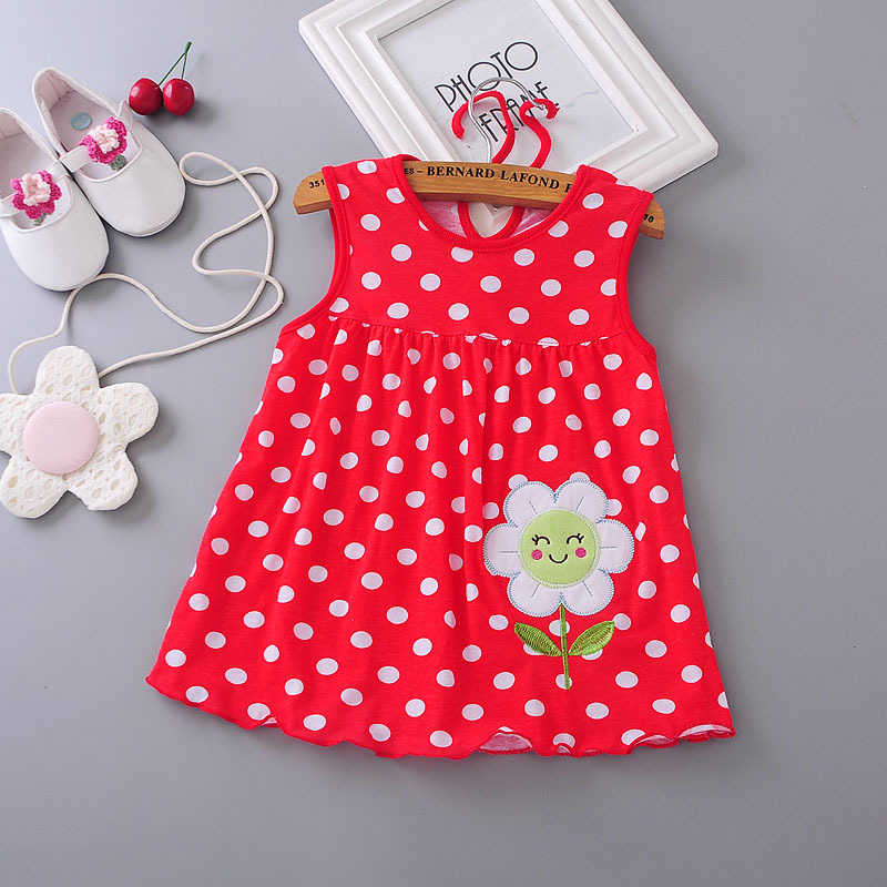 dc07946acd38 ... Top Quality Baby Dresses Princess 0-1years Girls Dress Cotton Clothing  Dress Summer Girls Clothes. 🔍. prev