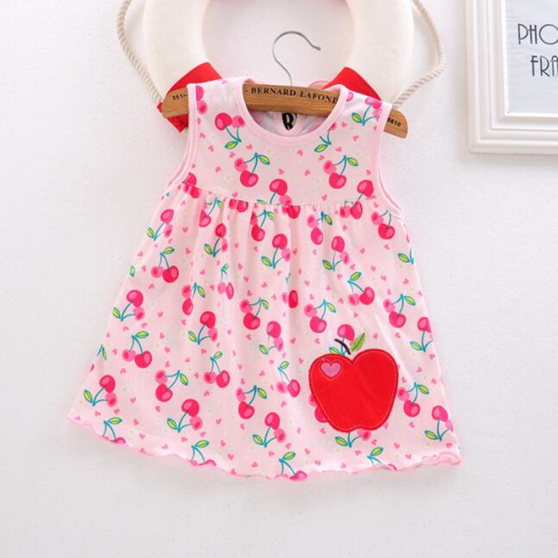 Top Quality Baby Dresses Princess 0-1years Girls Dress Cotton ... 356d9cb607f1