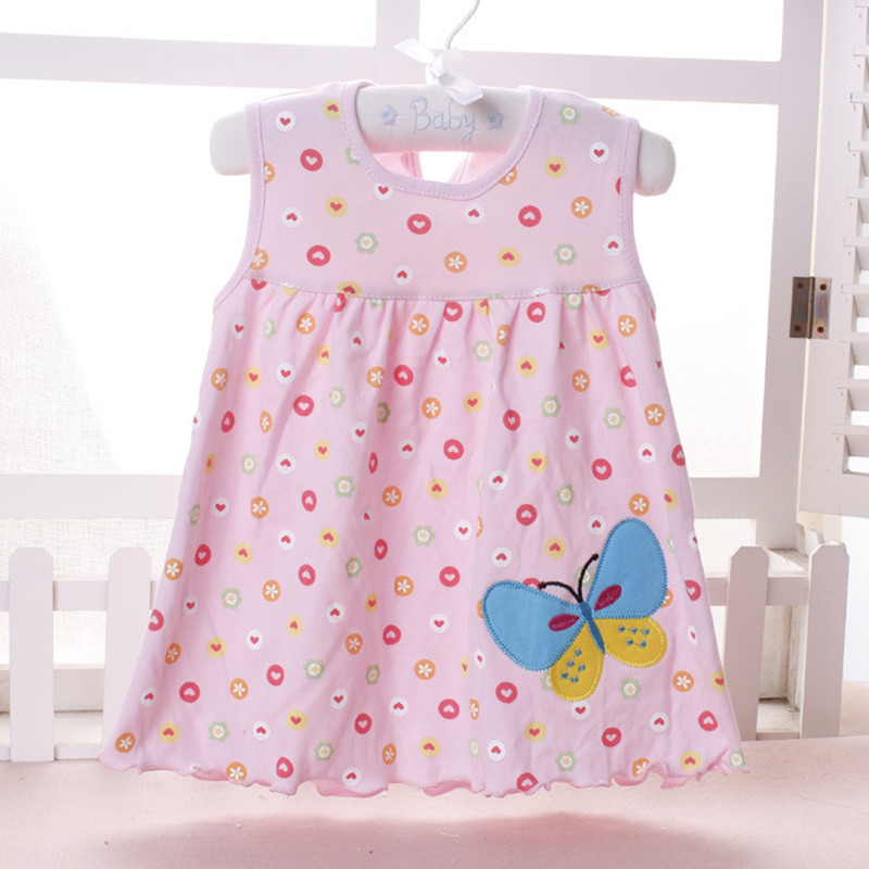 Top Quality Baby Dresses Princess 0-1years Girls Dress Cotton ...