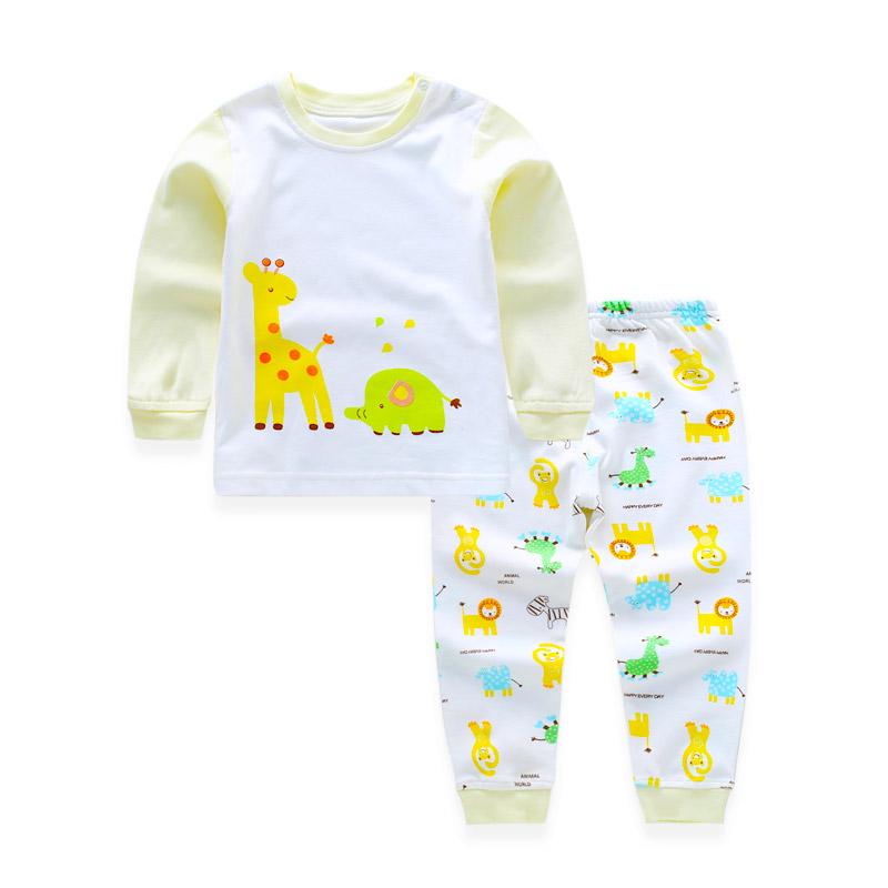 8aca6d147 Children Clothing Set Pajamas Sets Kids Girls T-shirt Pants Kit Suit ...