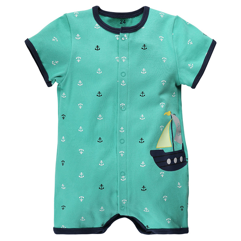 Baby Rompers Summer Baby Girl Clothes Baby Boys Clothing Sets Short