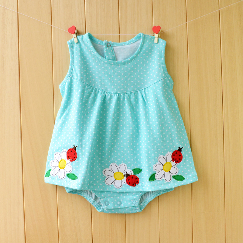 cee06098a567 ... Summer Girls Clothing Sets Roupas Bebes Flower Newborn Baby Clothes.  🔍. prev