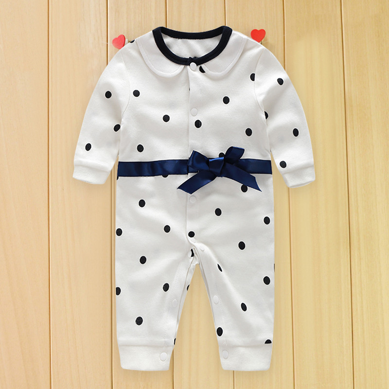 f2450ad8bccc2 Toddler Baby Rompers Autumn Roupas Infant Jumpsuits Boy Clothing ...