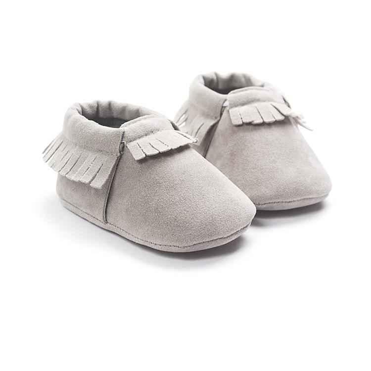 37096ab19 ... Leather Newborn Baby Boy Girl Baby Moccasins Soft Moccs Shoes Bebe  Fringe Soft Soled. 🔍. prev