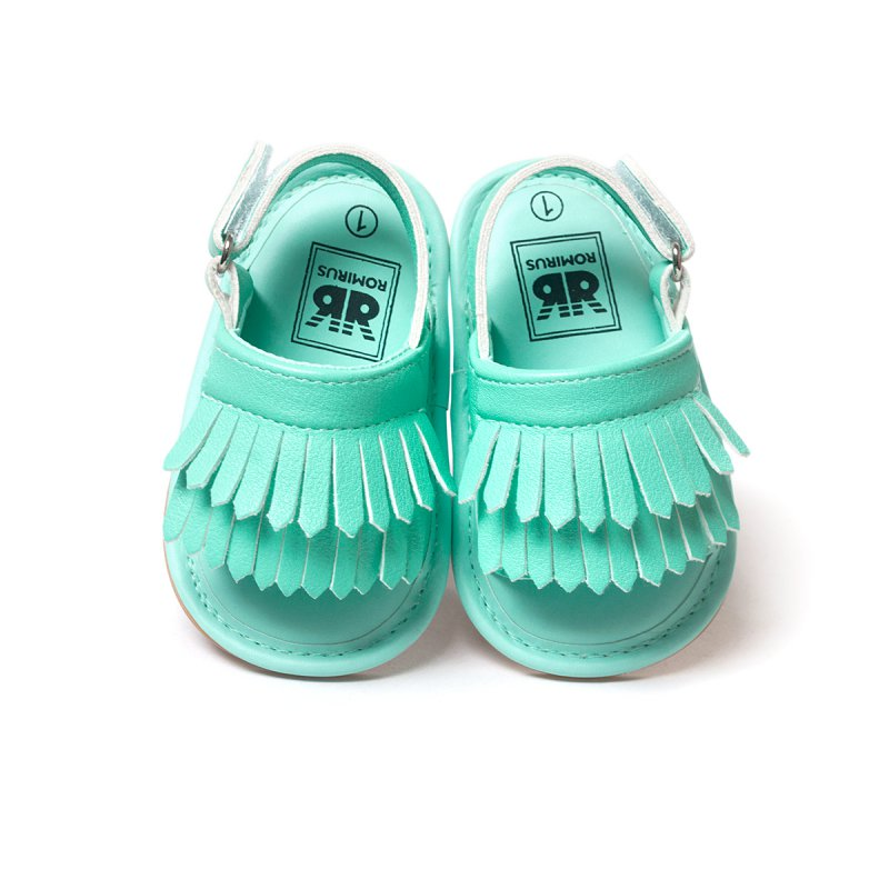 1384429f99eba stylish pu leather tassel baby moccasins tassel girls baby shoes Scarpe  Neonata hook and loop